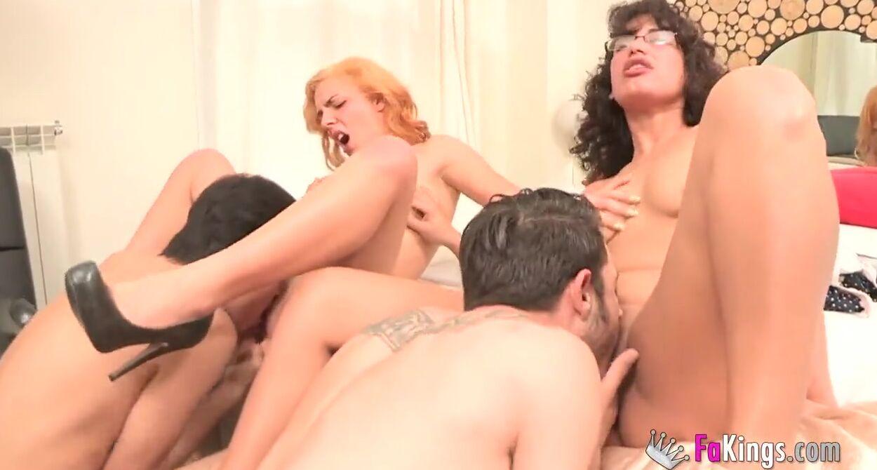 Amateur Big Tit Couple Swap