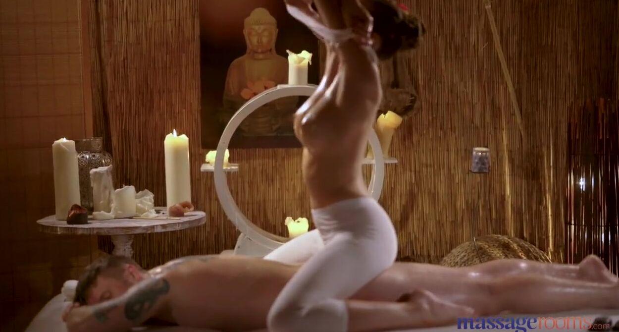 Two Girls Massage One Guy