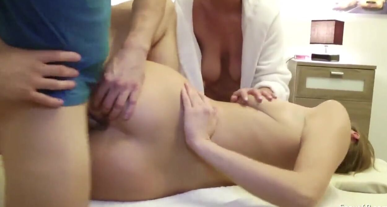 Mom Watching Daughter Fuck