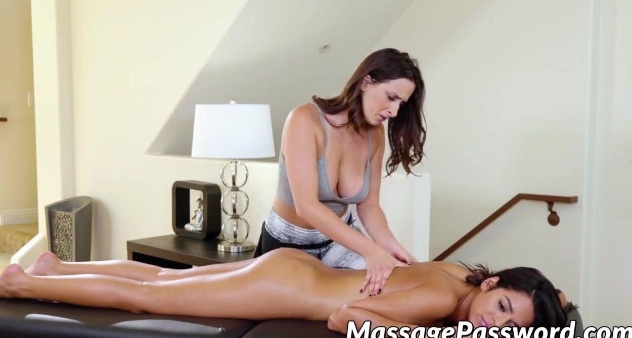 Lesbian Massage Table Fucking
