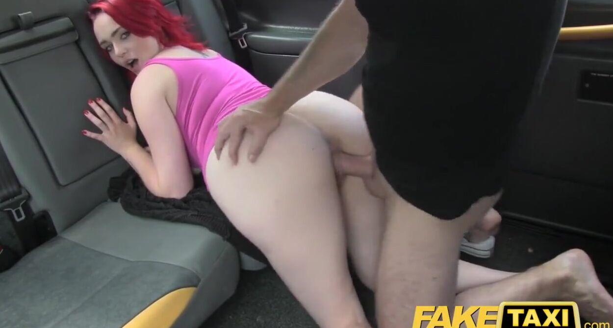 Female Fake Taxi Masturbation